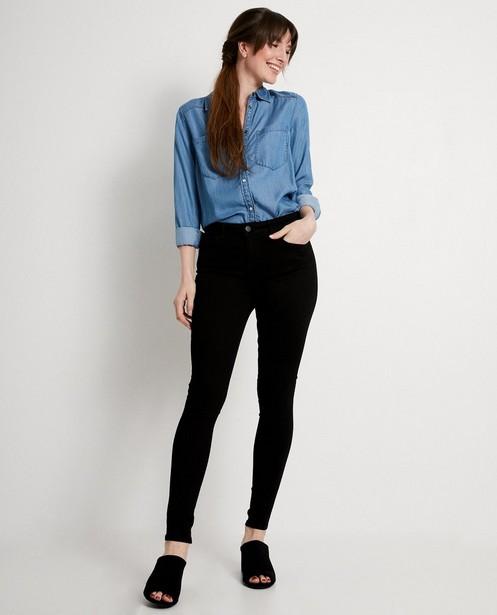 Zwarte superskinny jeans - mid rise - JBC