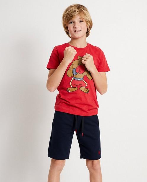 T-shirts - rood fel -