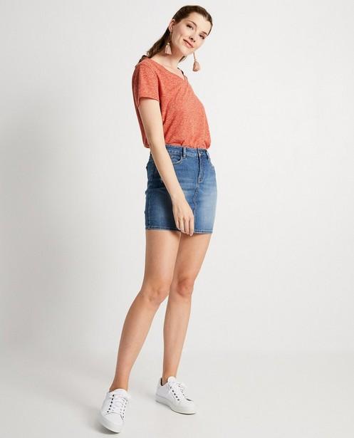 Rood T-shirt Sora - gemêleerd - Sora