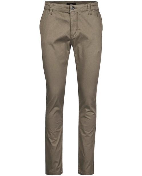 Pantalon bleu foncé - fermeture à glissière - JBC