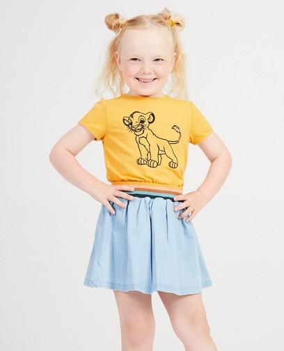 T-shirt jaune Le Roi Lion - Disney