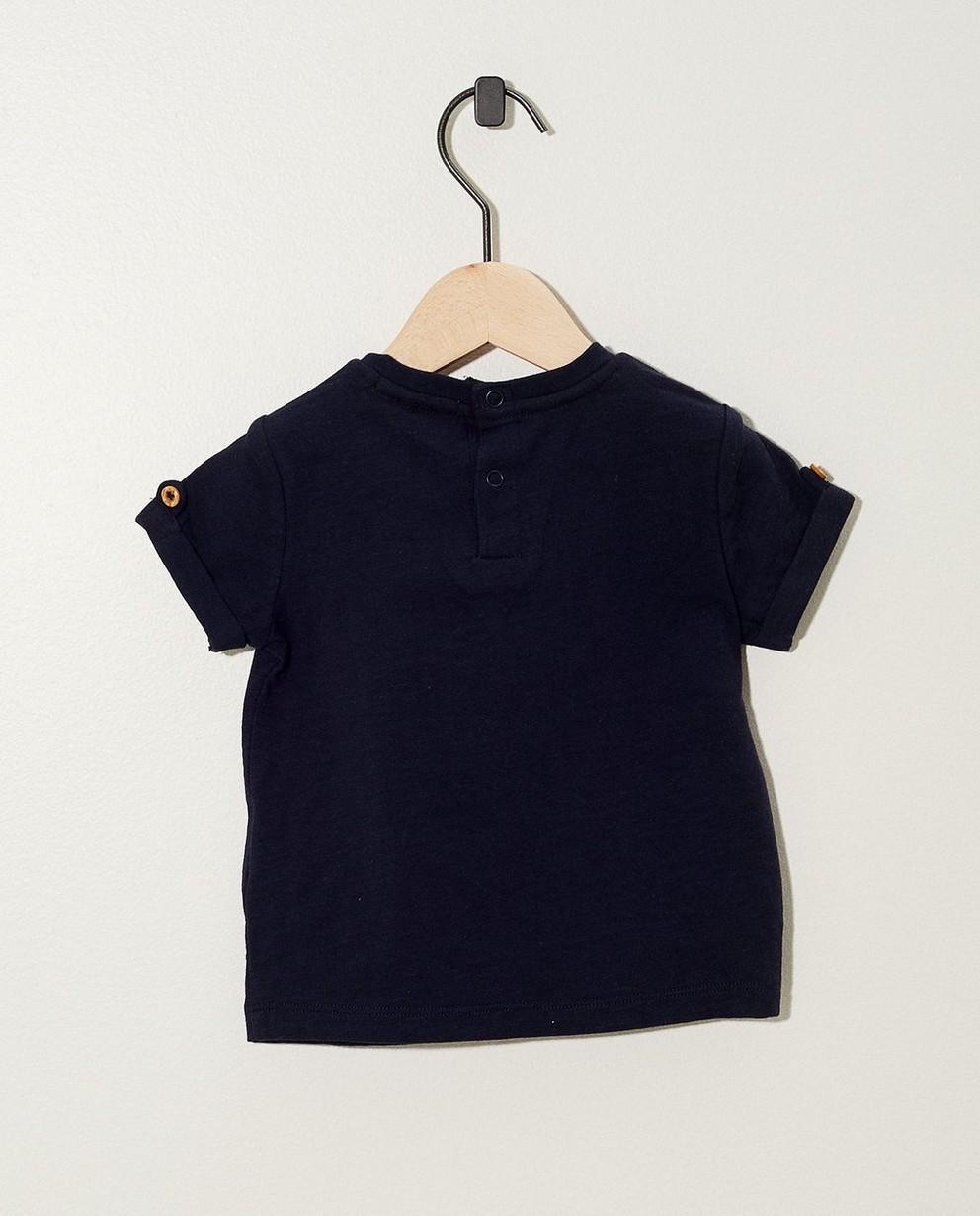 T-shirts - navy - T-shirt bleu marine à inscription