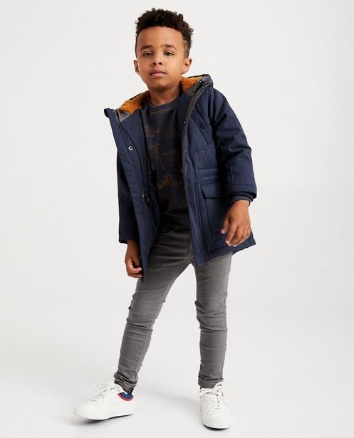 Longue veste bleu foncé - coupe longue - JBC