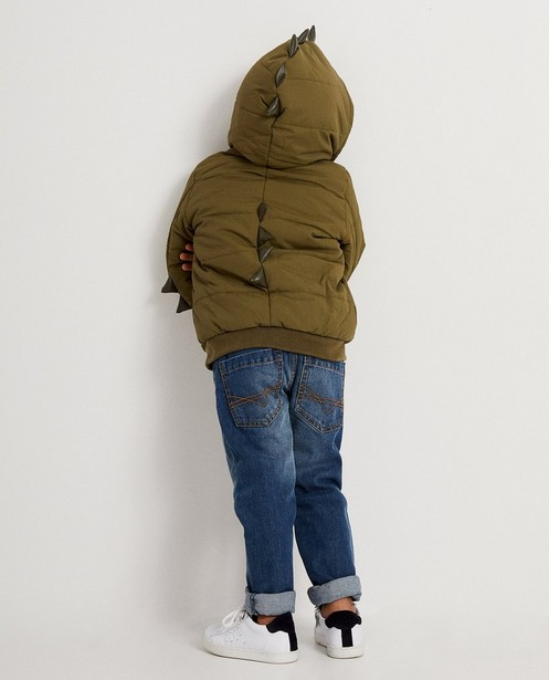Groene jas met schubben - waterafstotend - JBC