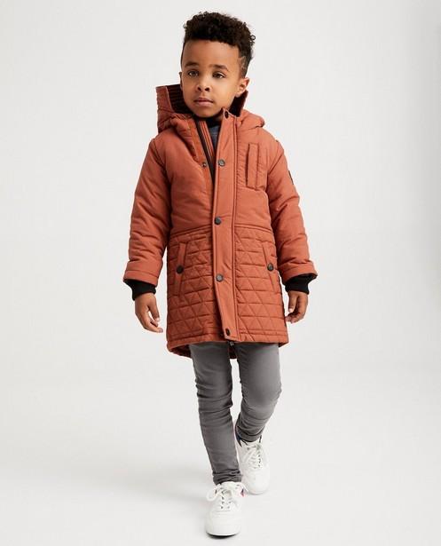Longue veste brune - imperméable - JBC