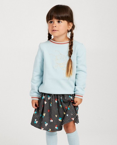 Blauwe sweater Maya