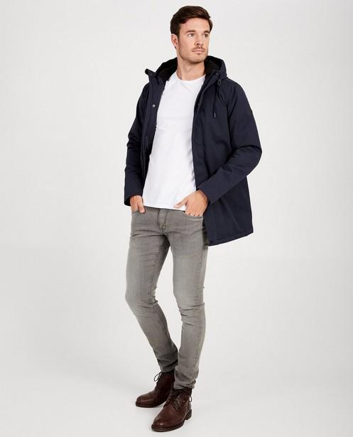 Veste bleue imperméable - à capuche - JBC