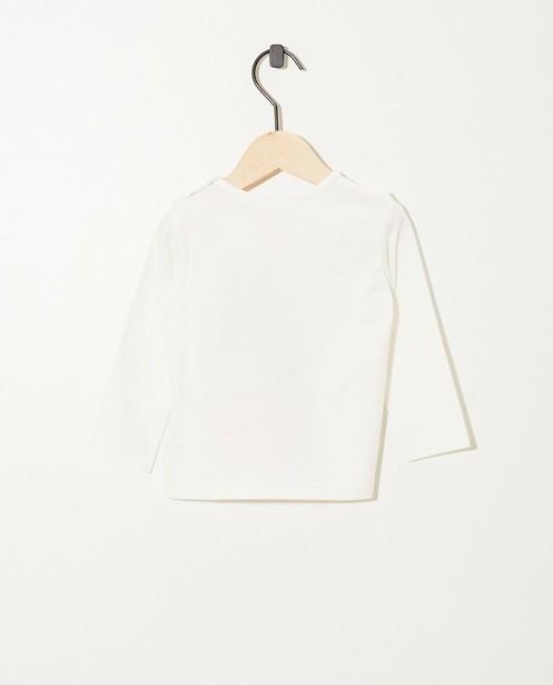 T-shirts - T-shirt blanc à manches longues