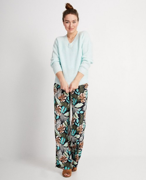 Pull bleu clair Sara De Paduwa - pull en tricot - padu