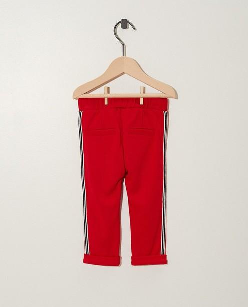 Broeken - RDM - Rood sweatbroekje