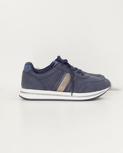 Baskets bleues - à paillettes - Sprox