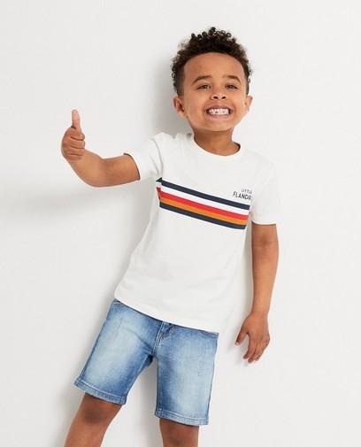 T-shirt blanc Baptiste, 2-7 ans