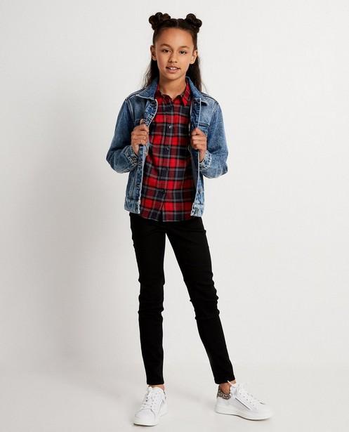 Blauwe jeansjas - met wassing - JBC