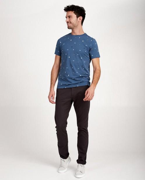 T-shirt van biokatoen I AM - met print - I AM