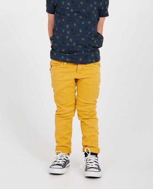 Pantalons - geel oker -