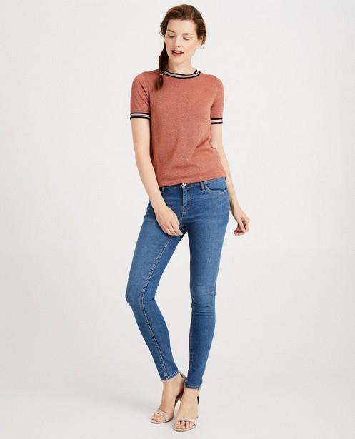 Blauwe skinny FAYE - regular waist - JBC