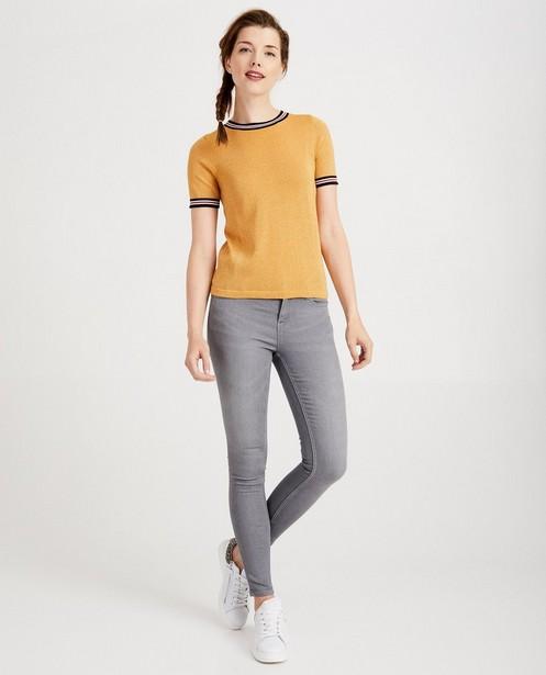 Donkerblauwe skinny FAYE - regular waist - JBC