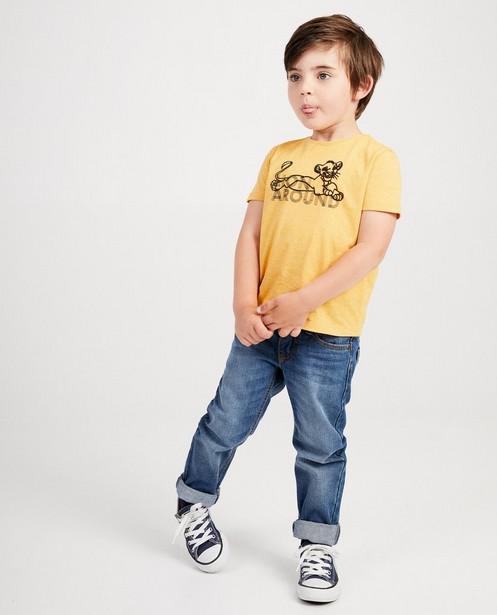 T-shirt jaune Roi Lion, Disney - imprimé - Lion King