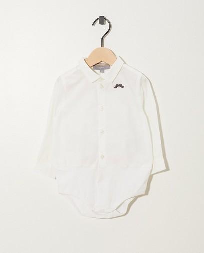 Witte hemdbody Feest