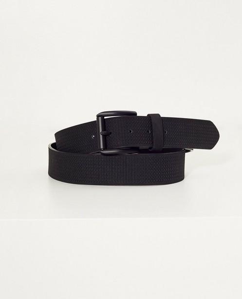 Zwarte riem - met print - JBC NL