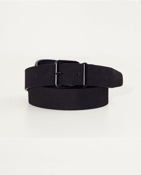 Donkerblauwe omkeerbare riem - Zwarte gesp - JBC