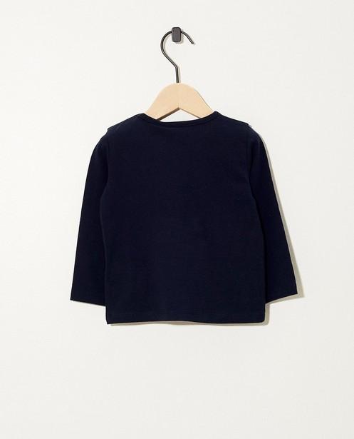 T-shirts - T-shirt bleu à manches longues