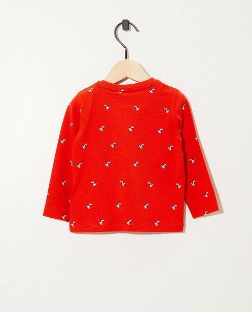 T-shirts - AO2 - T-shirt rouge à manches longues