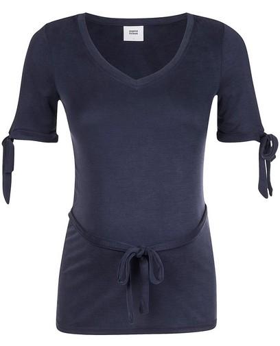 Blauw T-shirt Mamalicious