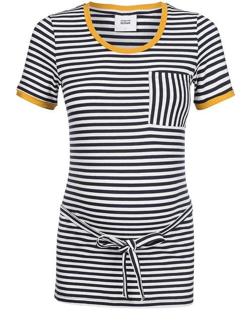 Gestreept T-shirt Mamalicious - zwangerschap - mali