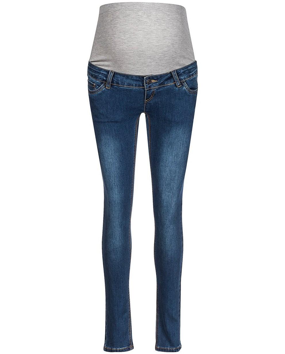 Jeans slim fit bleu Mamalicious - grossesse - mali