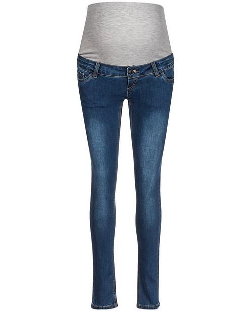 Blauwe slim fit jeans Mamalicious - zwangerschap - mali