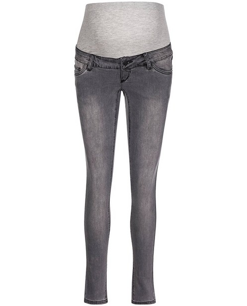Jeans slim fit gris Mamalicious - grossesse - mali
