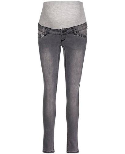 48d1837b44d60a Grijze slim fit jeans Mamalicious