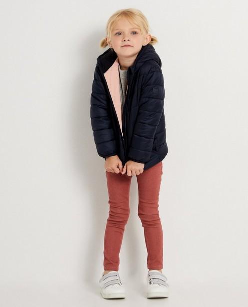 Blauwe jas met kap - in 2 kleuren - JBC