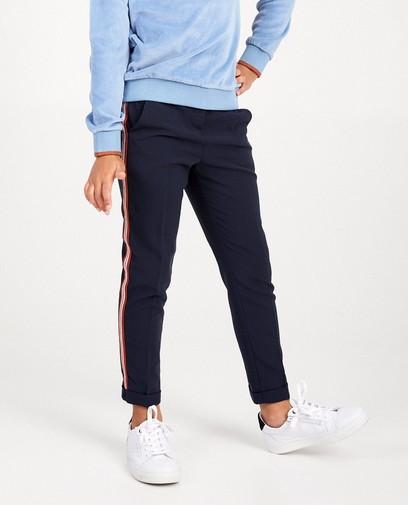 Blauwe broek met streep Nachtwacht