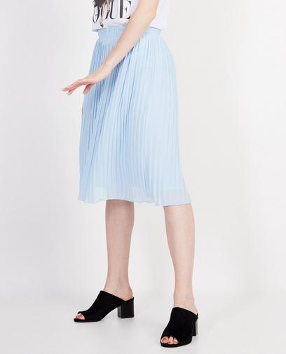 Jupe plissée bleu clair Elle Italia