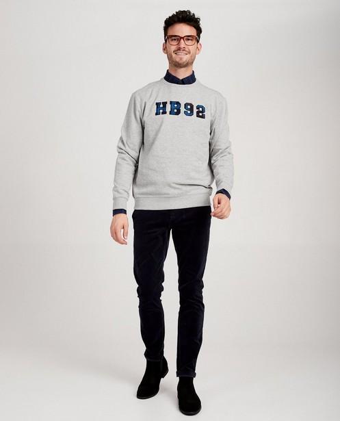 Grijze sweater Hampton Bays - gemêleerd - Hampton Bays