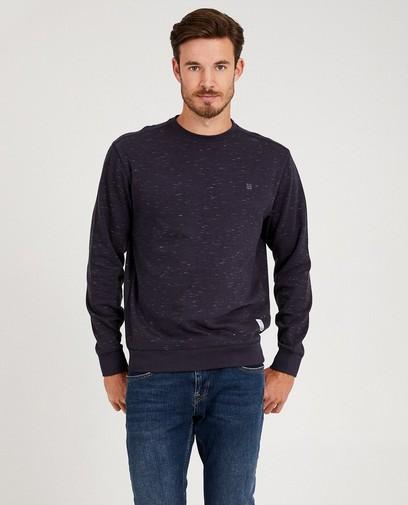 Donkerblauwe sweater