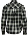 Hemden - Zwart hemd met ruiten Katja Retsin