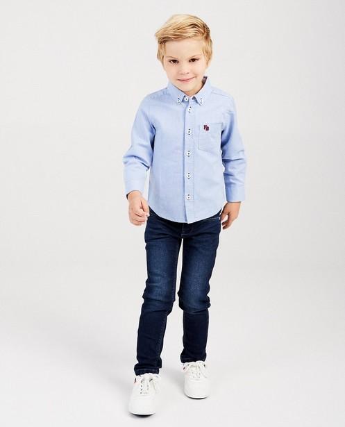 Chemise bleu clair Hampton Bays - accents blancs et rouges - Hampton Bays