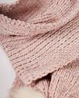 Bonneterie - Écharpe et bonnet roses