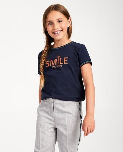 T-shirt bleu Sara de Paduwa