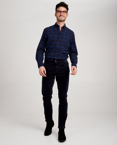 Pantalon bleu foncé Hampton Bays - velours côtelé - Hampton Bays