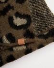 Bonneterie - Bonnet + écharpe tachetés