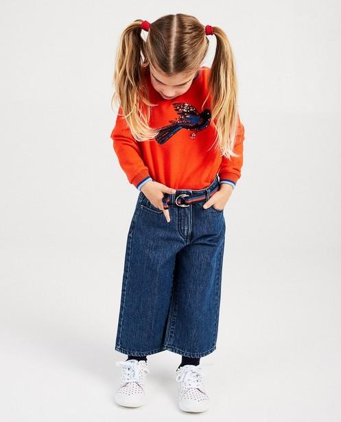 Jeans bleu Hampton Bays - ceinture rayée - Hampton Bays