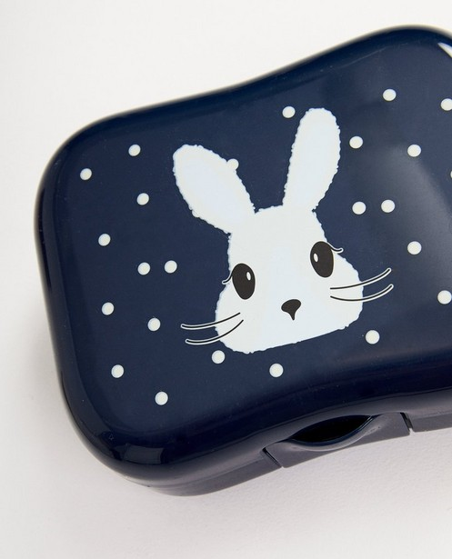 Gadgets - Blauwe boterhammendoos met print