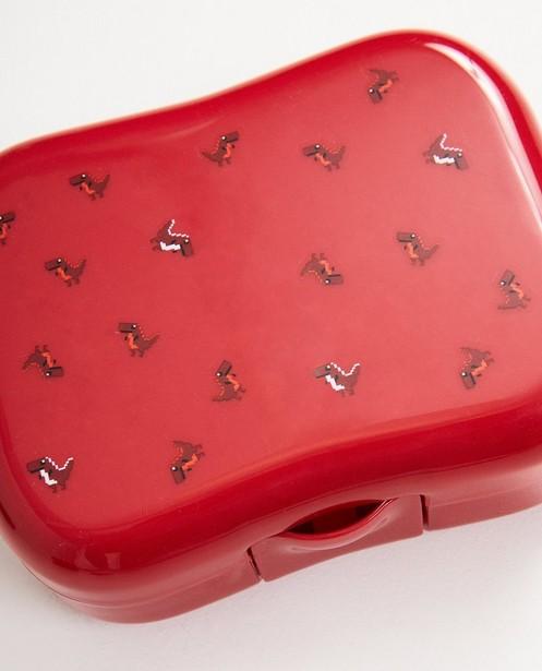 Gadgets - Rote Brotbüchse mit Aufschrift
