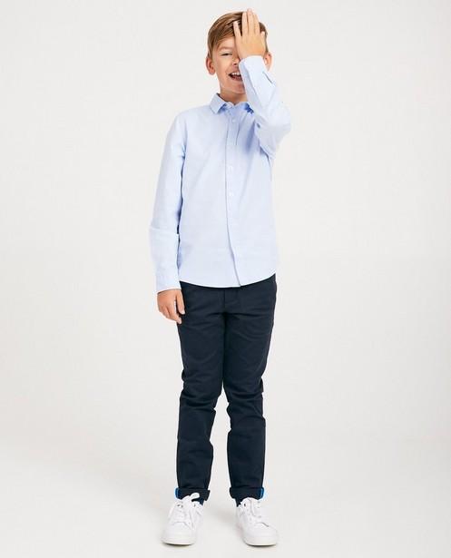 Chemise bleu clair - uniforme scolaire - JBC
