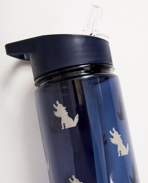 Gadgets - Gourde bleue à imprimé