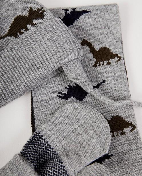 Breigoed - Set van sjaal, muts en wanten